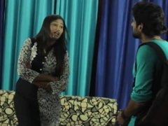 Female Blackmails Neighbour and Seduces Him for Money _ Hot Mallu Aunty