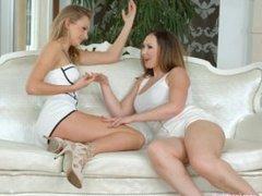 Sapphic Erotica presents Yasmin Scott and Ivana Sugar lesbians