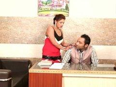 Beautiful Desi Girl Romance With Boss
