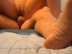 Foxy Blonde Hotwife Sucks Huge Mushroom Head Dick