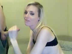 Skinny Teen Sucking Dick And Fucking With Cum Facial