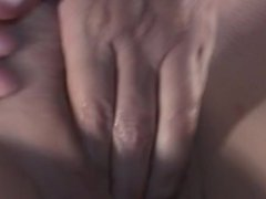 Wife Fingers Herself until She Cums on Her Fingers