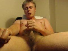 Danish Bi Boy (Finn/29yo/Cph) & 3 Facts: 1,Hairy Cock 2,Cum 3,Groans. (1)
