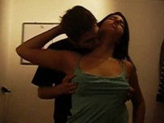 Beautiful Teen with big Tits used touched on Spycam