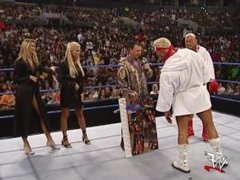 Torrie Wilson & Stacy Keibler vs Billy & Chuck Posedown Segment SmackDown