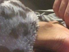 Light tickling ebony soles