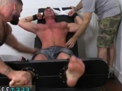 Free gay sex black male anal fisting guys Connor Maguire Tickled Naked