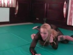 Lucy Pantyhose Leotard Mixed Wrestling