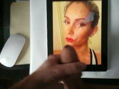 Nasty girl LeluLove gets a nasty facial