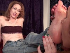 Aunt Mary Foot Worship