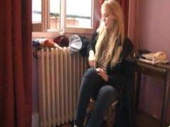 Blonde Socks Worship Humiliation
