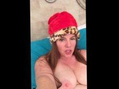 Naughty Elf Nikki Pussy and Anal Masturbation