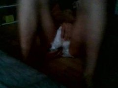 Diapered Fag boy ethan plays with dildo and cums