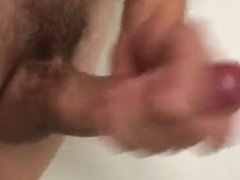 Masturbating in the shower