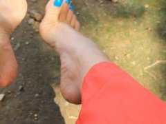 Toe Wiggling Foot Play