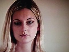 Blond girl tricked.Blackmail? Now fucking for a (Private video buying club)
