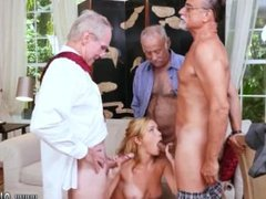 Old big tits and old young lesbian asian Frankie And The Gang Tag Team A