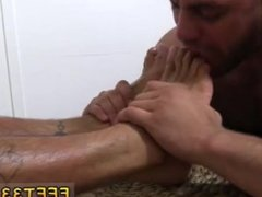 Naked gay foot and guys jerking off with their feet Johnny Hazzard Stomps