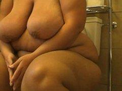 fat ass taking a dump