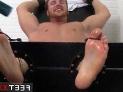 Teen gay dirty socks and feet fetish Wrestler Frey Finally Tickled