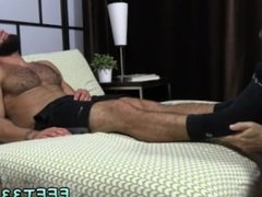 A latino gay man lay dead body nude hairy legs Ricky Larkin Shoots His