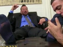 Gay foot cum fetish movie xxx The worshipping commences with a sole