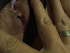 Toying my little hot wet MILF pussy with a bullet vibrator CLOSE UP