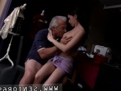 Old nanny sex and old man hotel anal He asks if she can fix his raggy old
