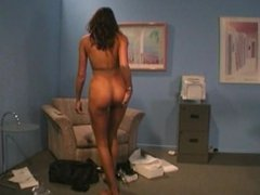 Kaylynn Jerk Off Encouragement Pantyhose