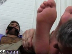 Gay s sex video xxx Chase LaChance Tied Up, Gagged & Foot Worshiped