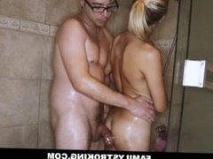 Teen Bree Mitchells Fucked By Her Brother In Shower