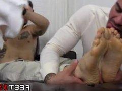 Teen boys licking hairy legs gay KC's New Foot & Sock Slave