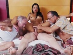 Old men licking young pussy and old mom fucked hard xxx Staycation with a