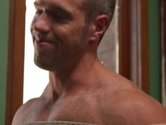 Alex Mecum Gets Tied Up and Edged!