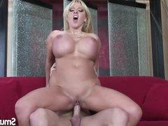 Big Boob blonde fuck