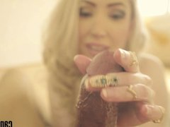 Candy May - Slow and sexy handjob close-up