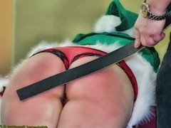 Bad News From the North Pole - (A Holiday Spanking)