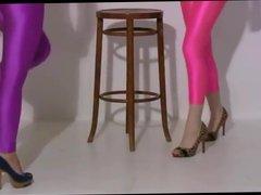 2 spandex girls