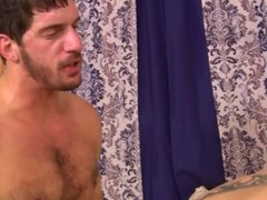Hairy str8 married men fuck best friend
