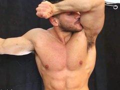 Muscle Man Armpit Power!