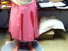 Pee in Pink Skirt #1 - Video 119