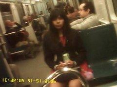 Chavita Rica En El Metro