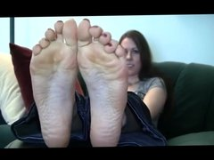 Samanthas Flawless Soles Creamy Wrinkles size