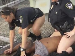 Black guy fucks 2 girls and anal threesome