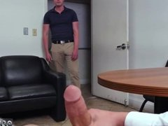 Fit straight guys jerk off gay first time