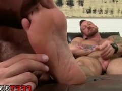 Gay boy puts foot in boys ass Hugh Hunter