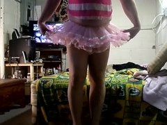 pink petticoat and pink rumba panties  two
