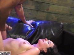 Brutal purple dildo and school of bondage