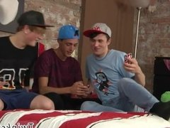 Boys teens gay sex of dad James, Leo and