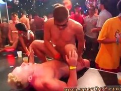 Sex group men and muscle gay party